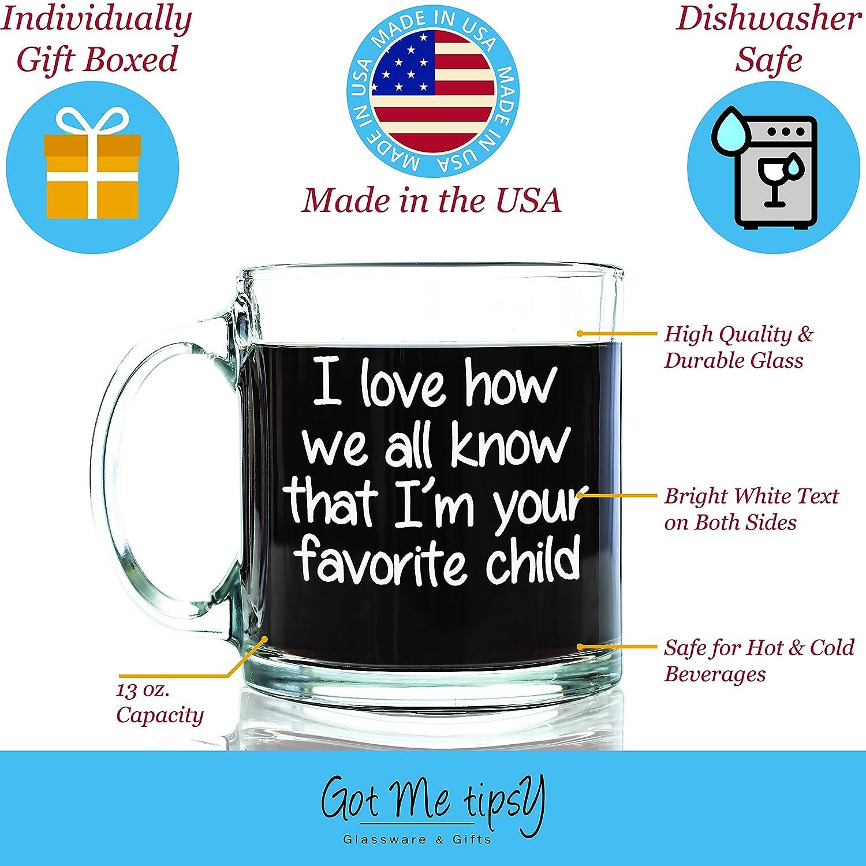 Amazon.com | Got Me Tipsy I'm Your Favorite Child Funny Coffee Mug ...