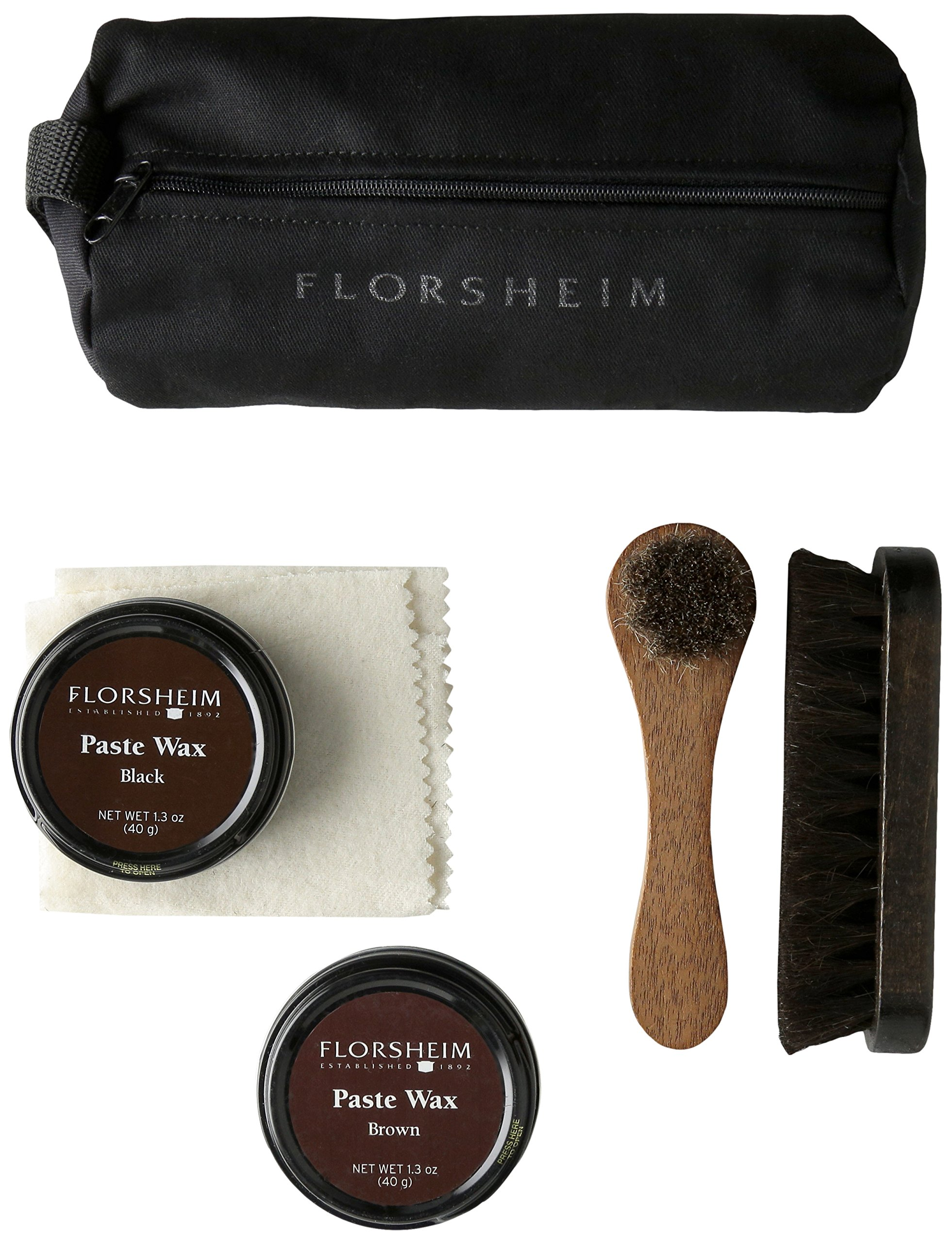 Florsheim Men's Shoe Care Travel Kit