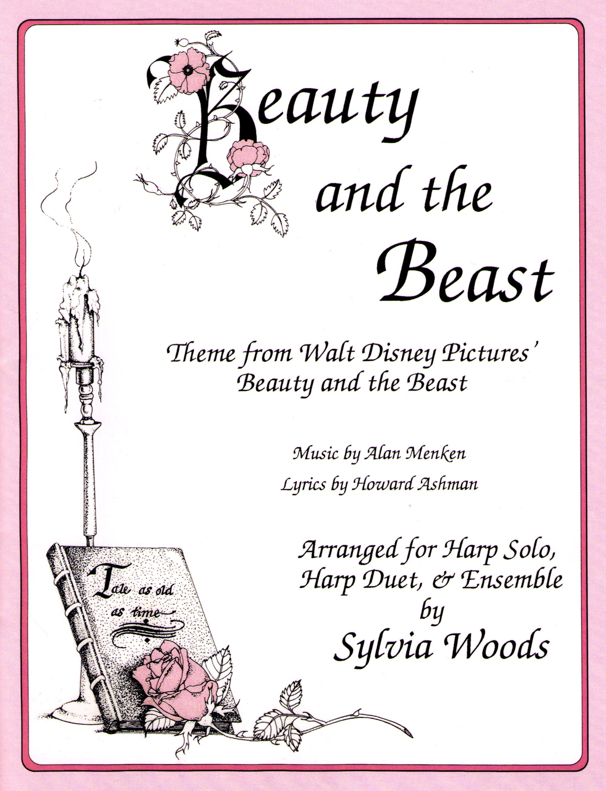 Beauty and the Beast Arranged for Harp