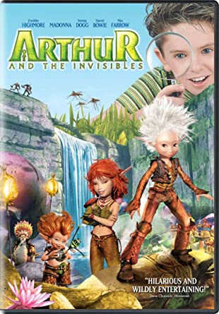 Amazon Com Arthur And The Invisibles Freddie Highmore Mia Farrow Madonna Snoop Dogg David Bowie Tonio Descanvelle Ron Crawford Adam Le Fevre Jean Bejote Njamba Penny Balfour Jason Bateman Robert De Niro Jimmy
