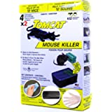Tomcat Health Canada Certified Mouse-Rodent Poison Trap Killer-Child and Dog Resistant-Disposable 8 Pack Bait Chunks…