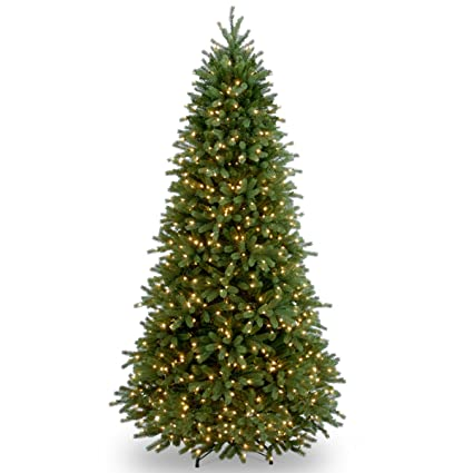national tree 75 foot feel real jersey fraser slim tree with 800 - 75 Ft Slim Christmas Tree