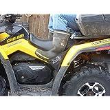 ATV Passenger Footrests Foot pegs Universal Fit ATV Rear Foot Rests