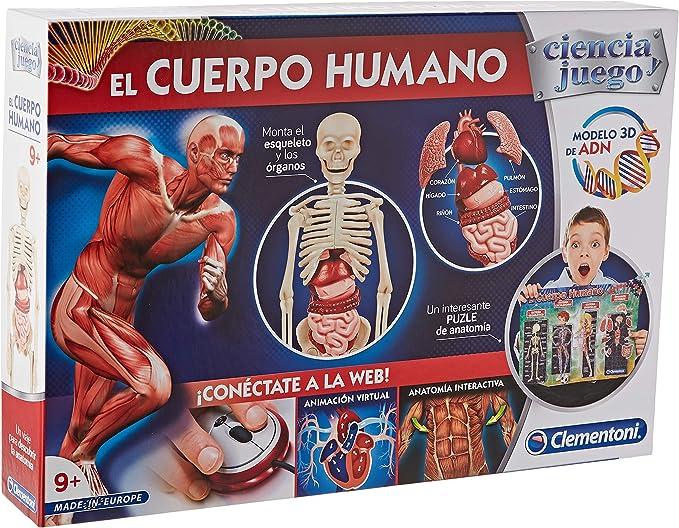 Clementoni-El Cuerpo Humano 550890 Multicolor Talla /Única