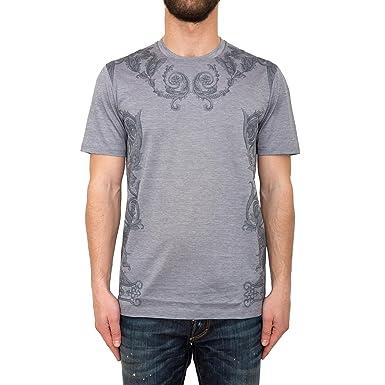 Versace Collection Herren T-Shirt Grau Grau  Amazon.de  Bekleidung c60245b1e4