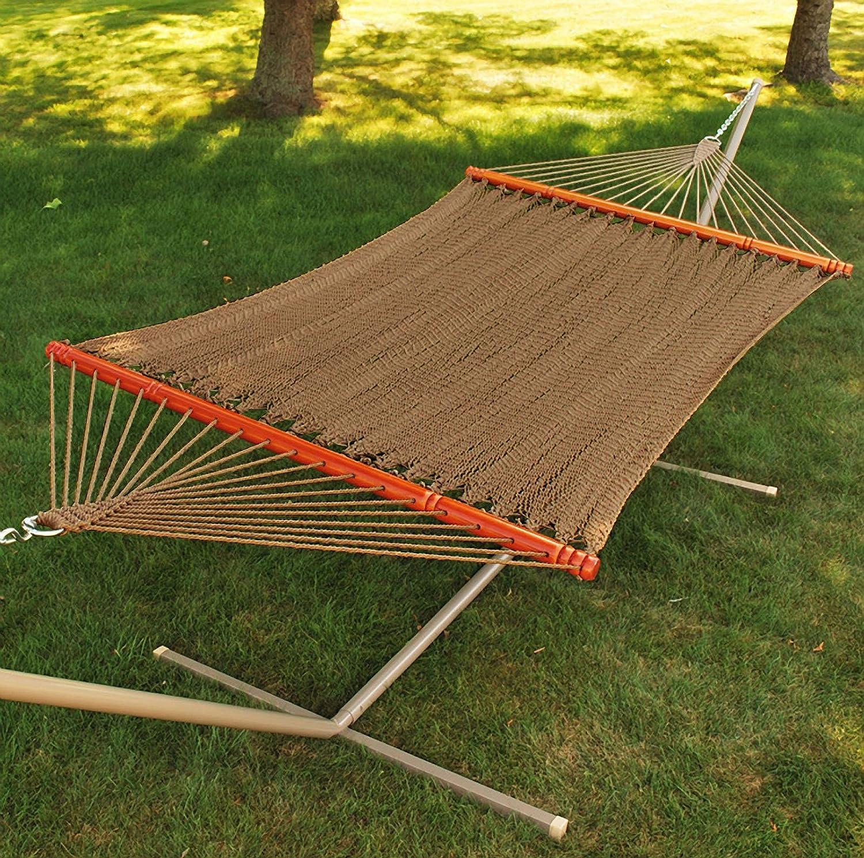 amazon     algoma 4910 two point tight weave caribbean hammock   garden  u0026 outdoor amazon     algoma 4910 two point tight weave caribbean hammock      rh   amazon