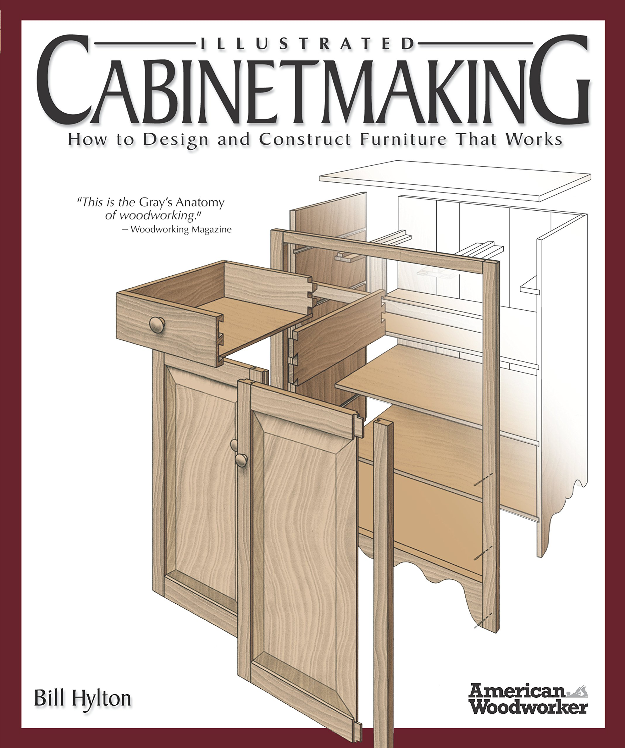 Download Illustrated Cabinetmaking: How to Design and Construct Furniture That Works (Fox Chapel Publishing) Over 1300 Drawings & Diagrams for Drawers, Tables, Beds, Bookcases, Cabinets, Joints & Subassemblies PDF