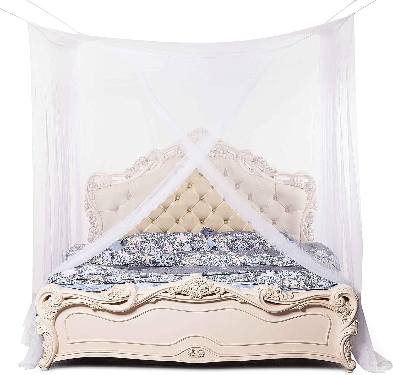 Beddingleer Filet moustiquaire ciel de lit