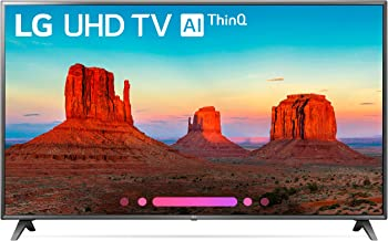 LG Electronics 86UK6570 86-Inch 4K Ultra HD Smart LED TV (2018 Model)