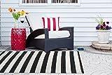 DII CAMZ38834 Reversible Indoor Woven Striped