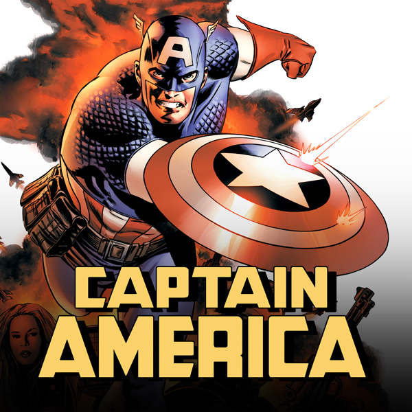 Captain America (2004-2011) (Collections) (17 Book - Cartoon Character Otto