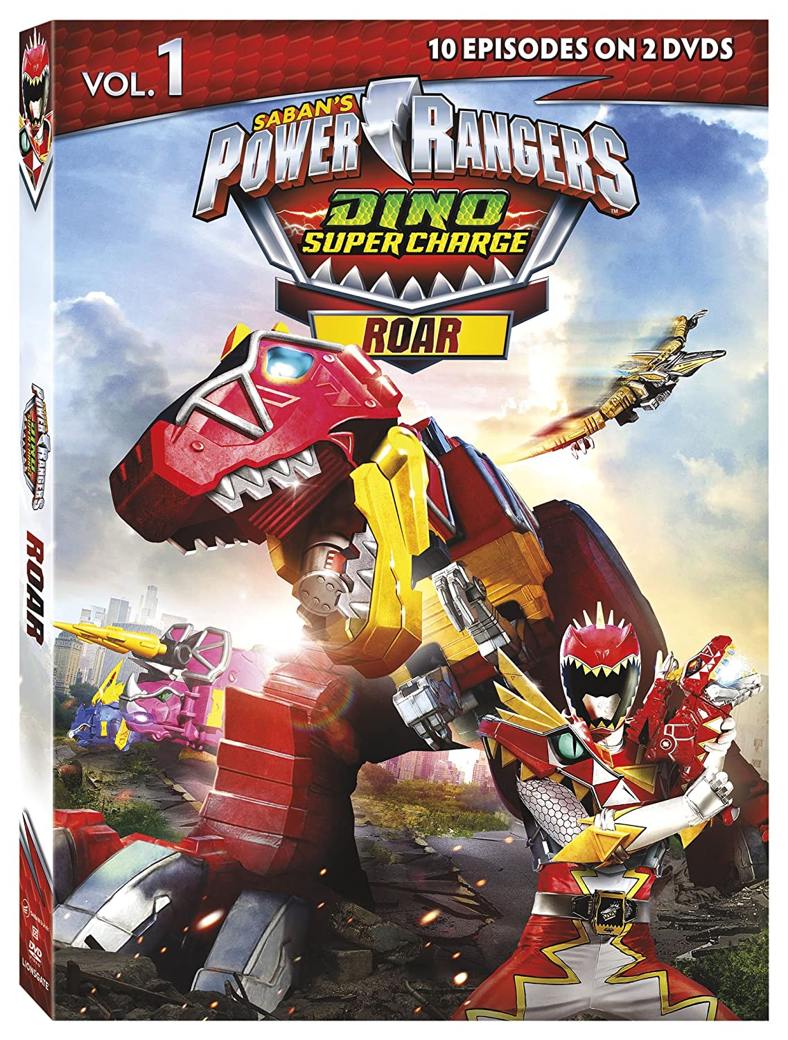 Amazon.com: Power Rangers: Dino Super Charge - Roar: Brennan ...