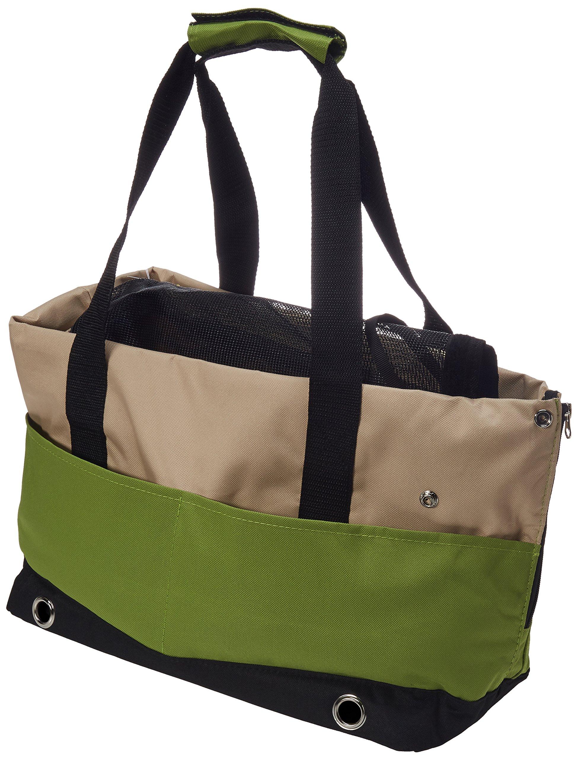 Iconic Pet Furrygo Sports Handbag Carrier, Lime Green