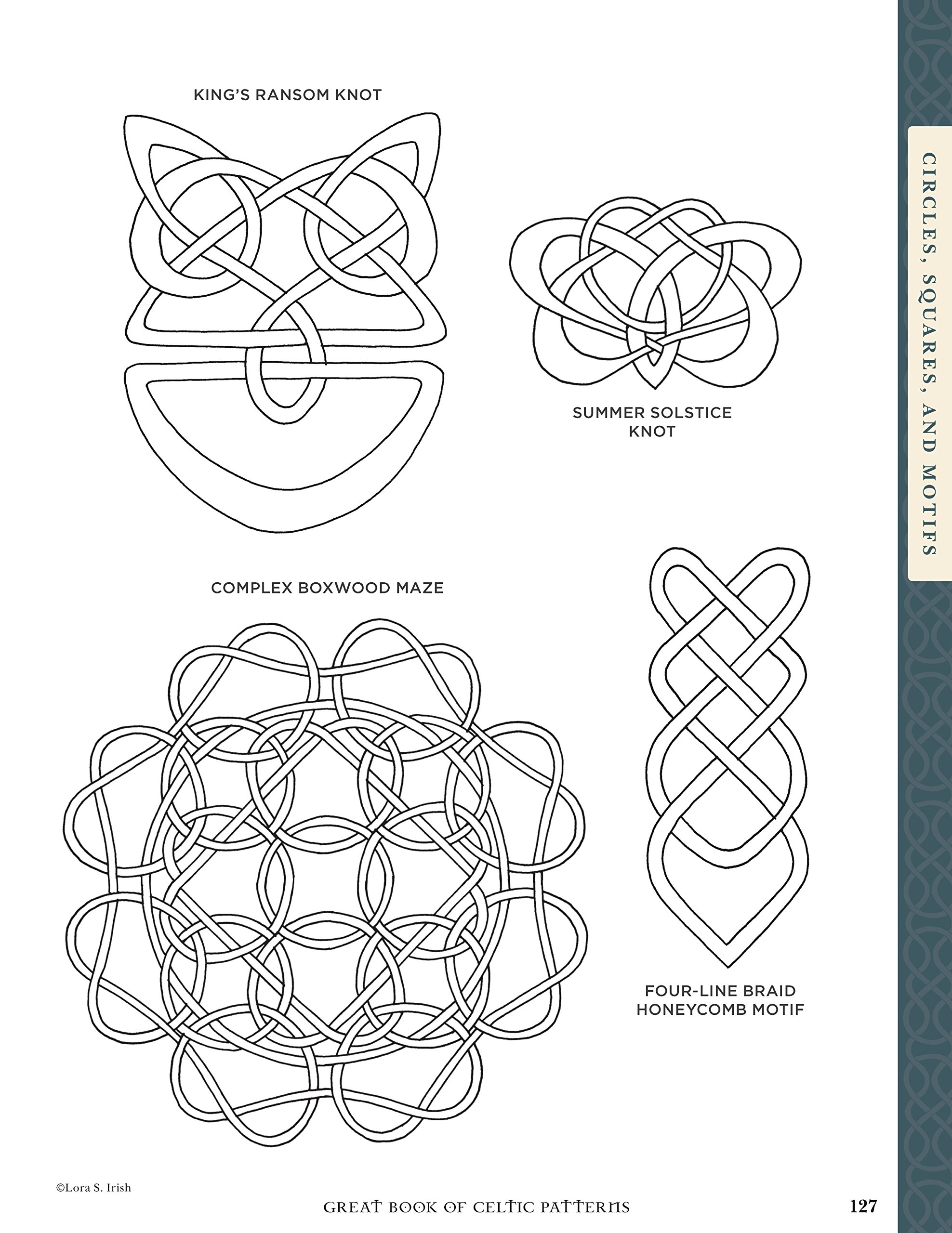Great Book of Celtic Patterns: The Ultimate Design