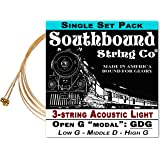 "3-String Open G ""GDG"" Modal/Blues String Sets - Choose from 4 Set Varieties! (LMH)"