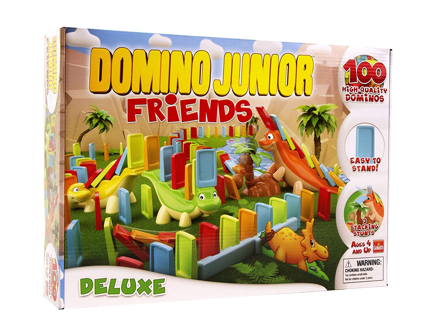 Goliath 81018 Domino Express-Junior Dino Friends