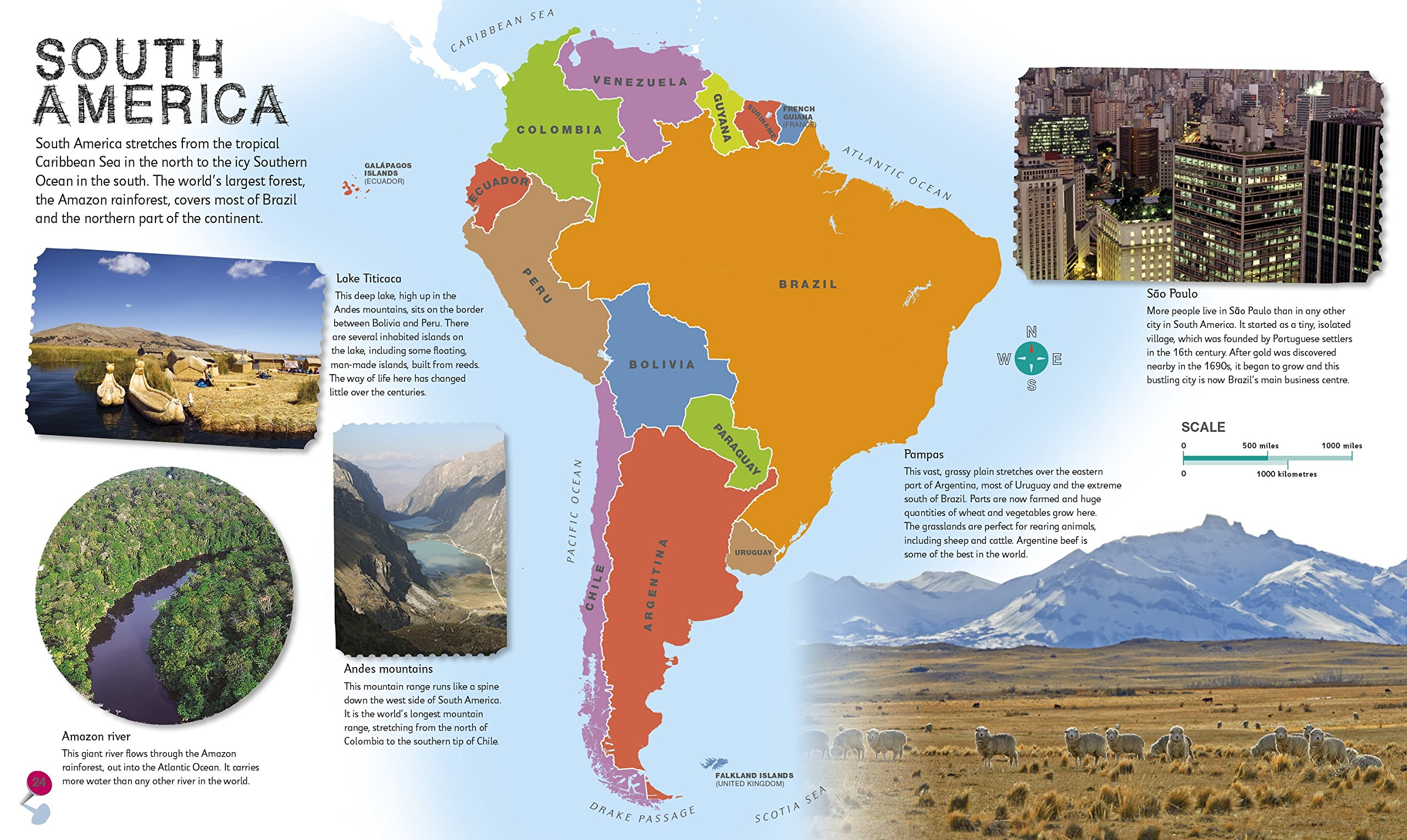 Children\'s Illustrated Atlas (Dk Childrens Atlas): Amazon.de: Andrew ...
