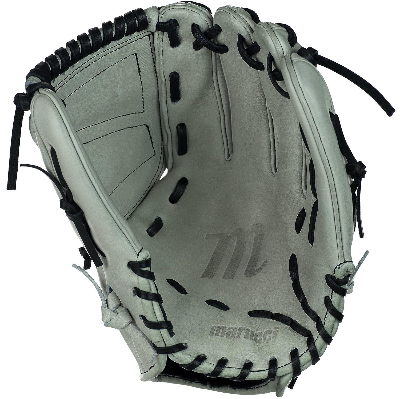 MarucciスパイラルWebソフトボールユーティリティ手袋(グレー/ブラック) B0146EPNJ8 12
