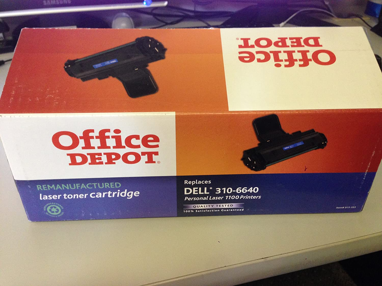 Dell 310-6640 GC502 Compatible Remanufactured Toner Cartridge for 1100, 1110 Laser Printer - Black