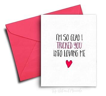 Funny Valentines Day Card For Girlfriend Valentine Card Boyfriend