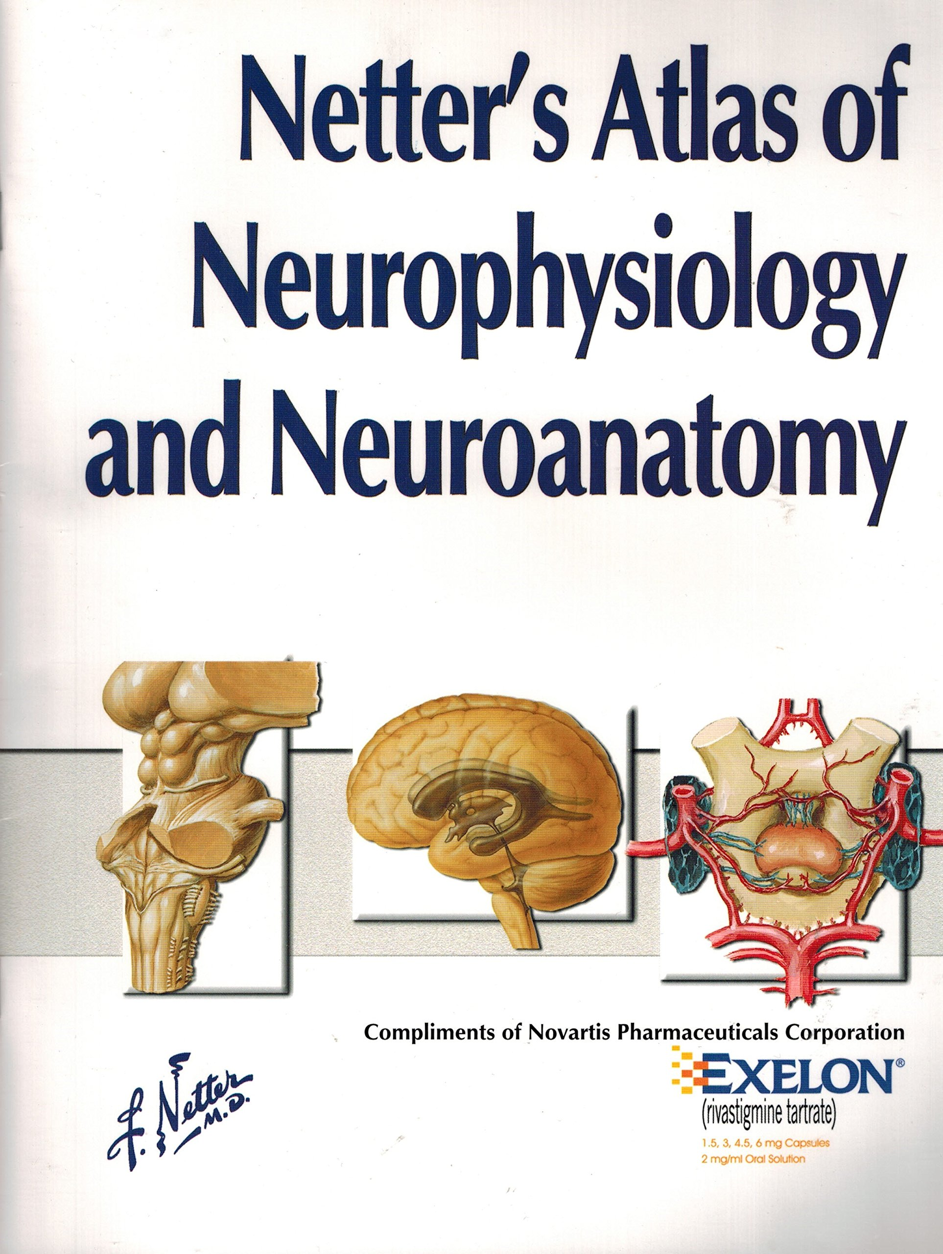 Netter\'s Atlas of Neurophysiology and Neuroanatomy Softcover 2003 ...