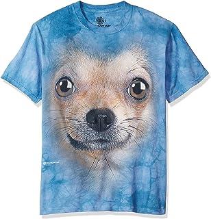 ee67fca70 Amazon.com: A&E Designs Chihuahua Shirt Tie Dye Dog Face T-shirt ...