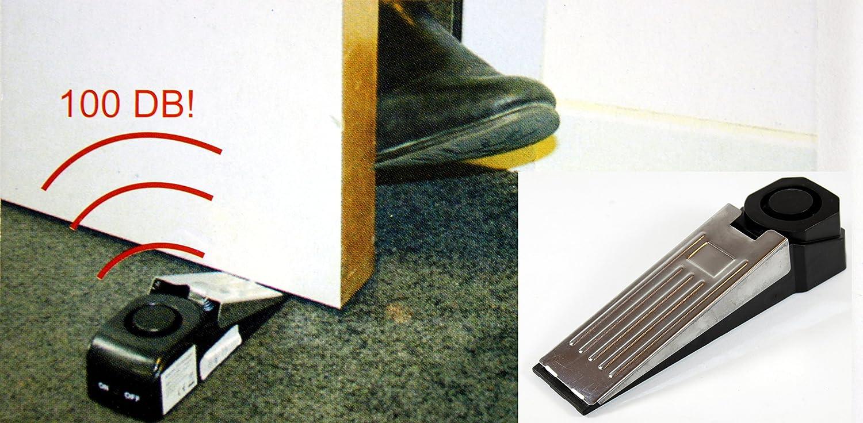 Türalarm Türstopper -K&B Vertrieb- Haustüralarm Haustür 100dB Alarmanlage Türsicherung Türe 149