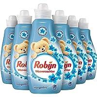 Robijn Morgenfris Wasverzachter - 360 wasbeurten - 6 x 1,5L - Voordeelverpakking