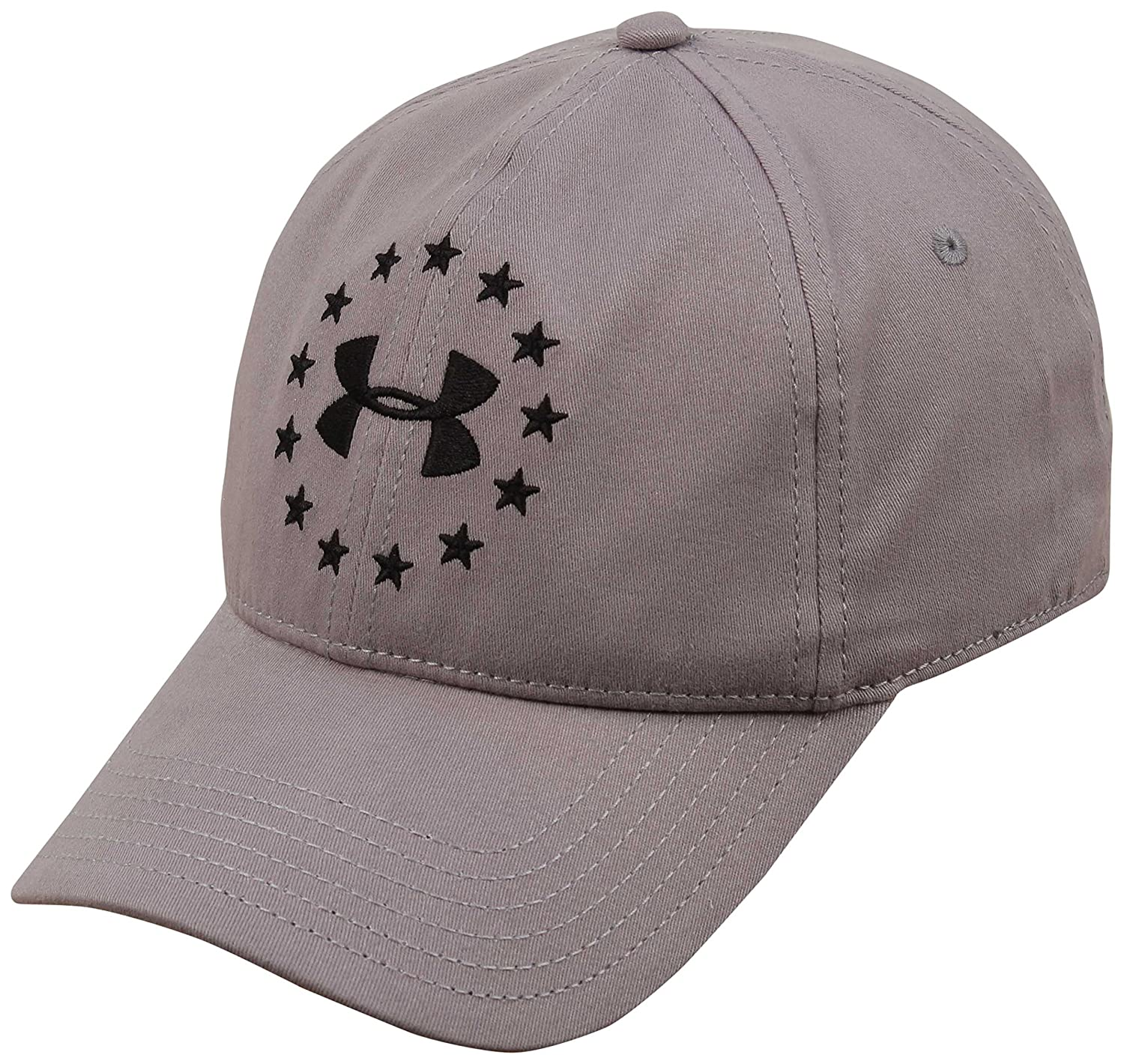 buy popular 99eb1 4ba11 Under Armour Freedom Hat - Steel Black at Amazon Men s Clothing store