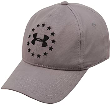 hot sale online 7a86f 58ac7 Under Armour Freedom Hat - Steel Black