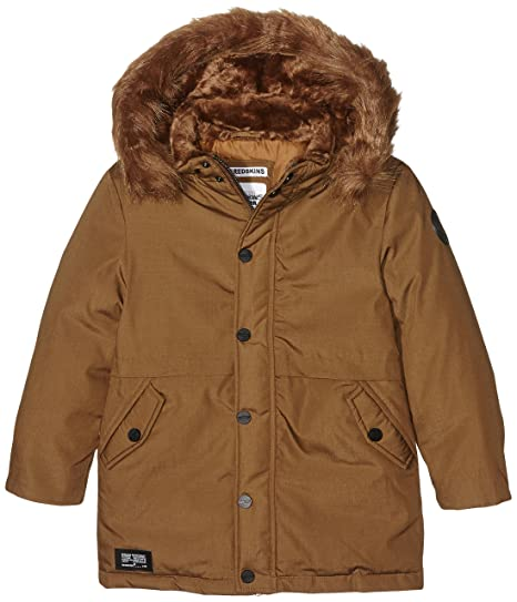 Redskins Junior Quebec, Blouson Gar?on, (Camel), 10 Ans (Taille Fabricant: 10)