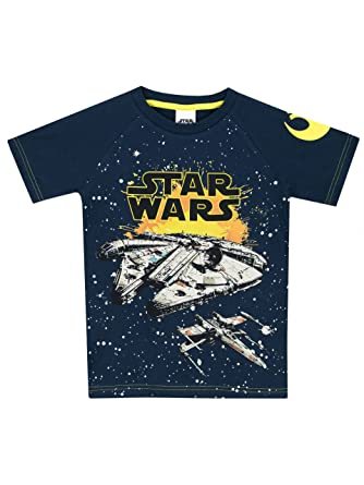 Star Wars Boys Millennium Falcon T-Shirt Size 4