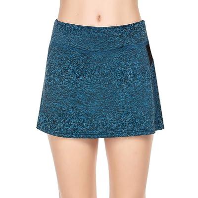 COOrun Women's Running Skorts Performance Active Athletic Skirt Golf Tennis Activewear Apparel Gym Workout Hiking: Clothing