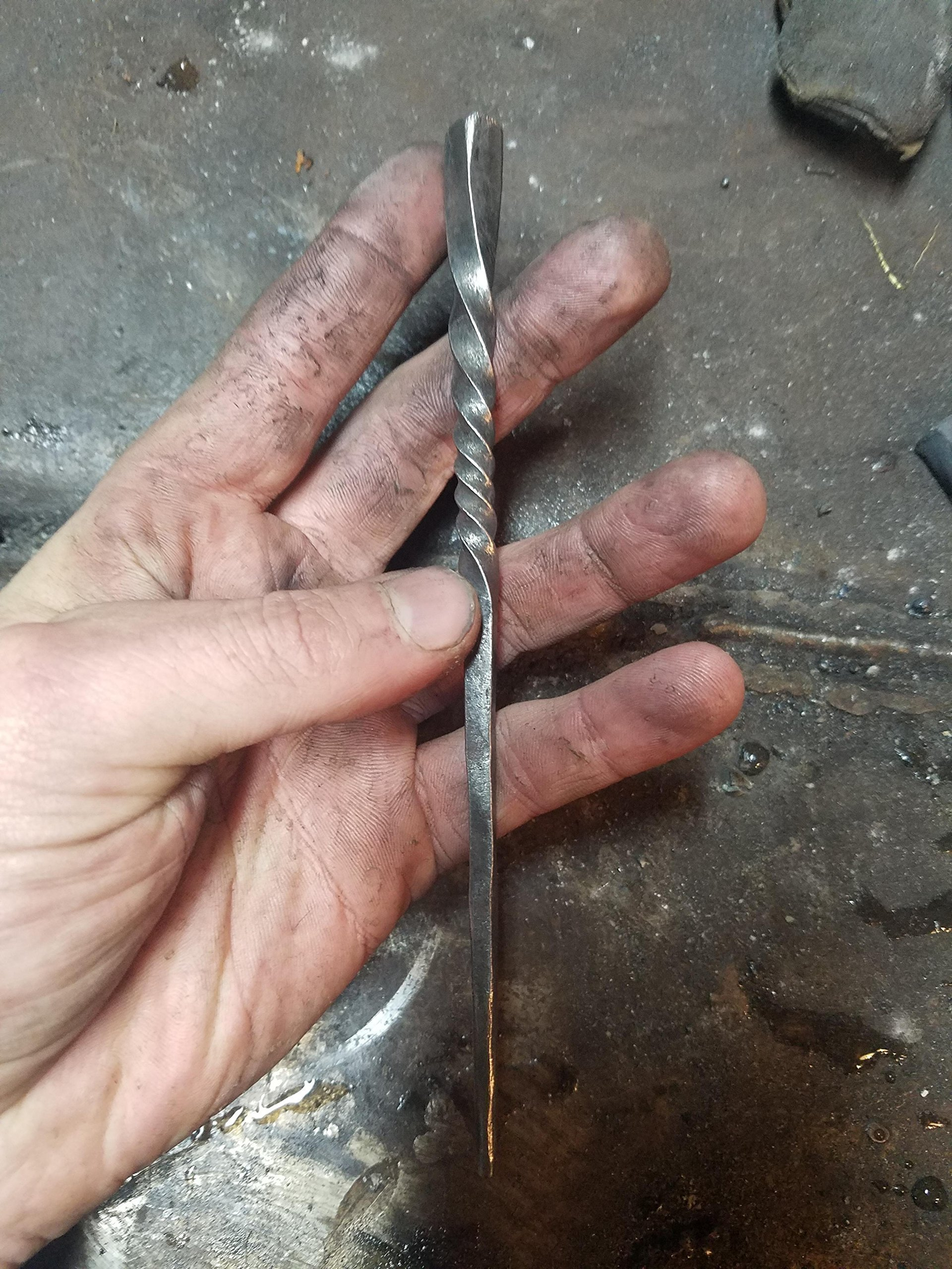 Forged Hair Pin
