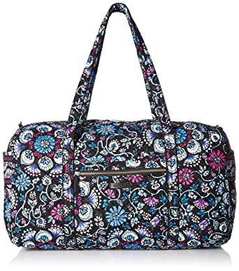 Amazon.com  Vera Bradley womens Iconic Large Travel Duffel ... da9a544459162