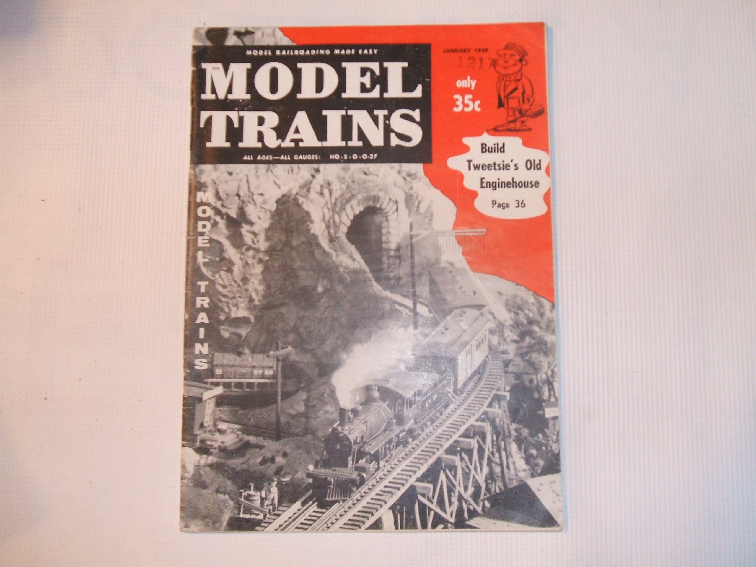 Model Trains January 1959 (VOLUME 12, NUMBER 1)