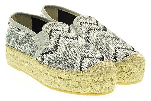 Mujer Alpargatas Vidorreta 06300 SILVER 40 Argento: Amazon.es: Zapatos y complementos
