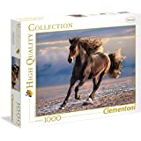 Clementoni - 39420 - High Quality Collection Puzzle - Free horse - 1000 Pezzi
