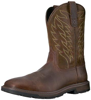 98033405 Amazon.com   Ariat Work Men's Groundbreaker Work Boot   Western