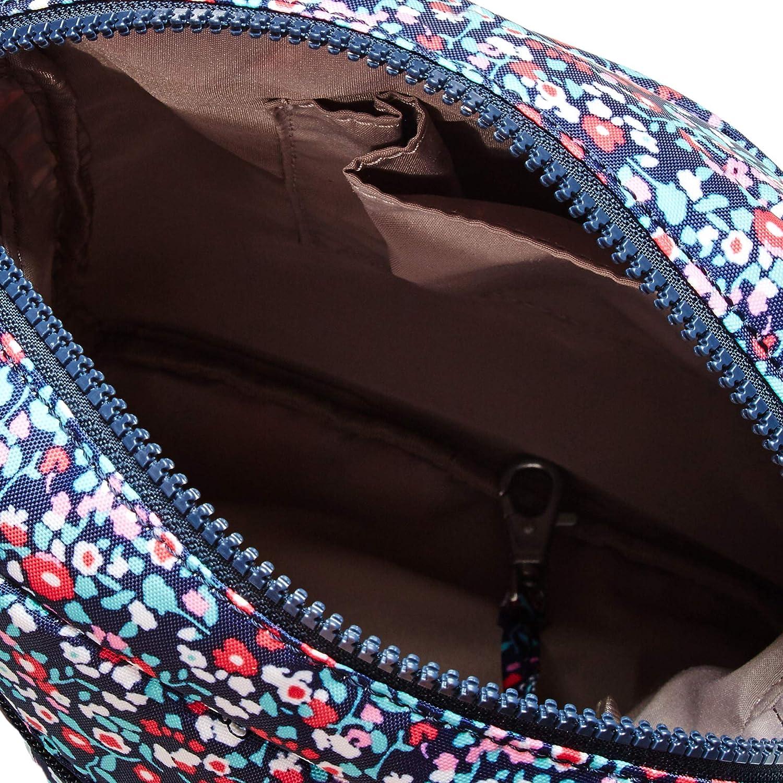Kipling Dam Livie-väska, justerbar axelremsrem, dragkedja Glistening Poppy Blue