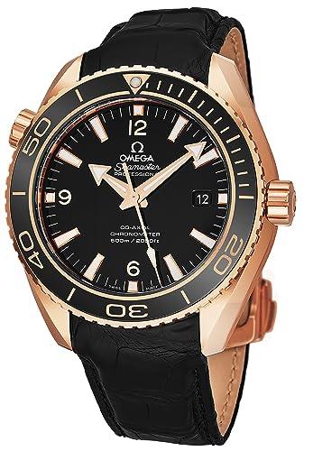 Omega Seamaster Planet Ocean - Reloj de buceo automático para hombre, 600 m, oro rosa, 42 mm, ...