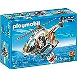 Playmobil - 5542 - Hélicoptère bombardier d'eau