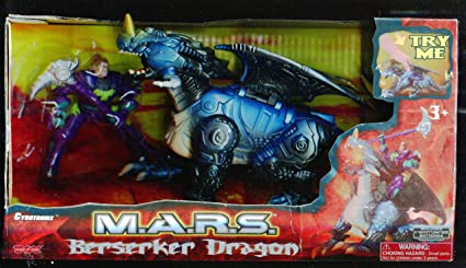 M.a.r.s Berserker Dragon with Action Figure
