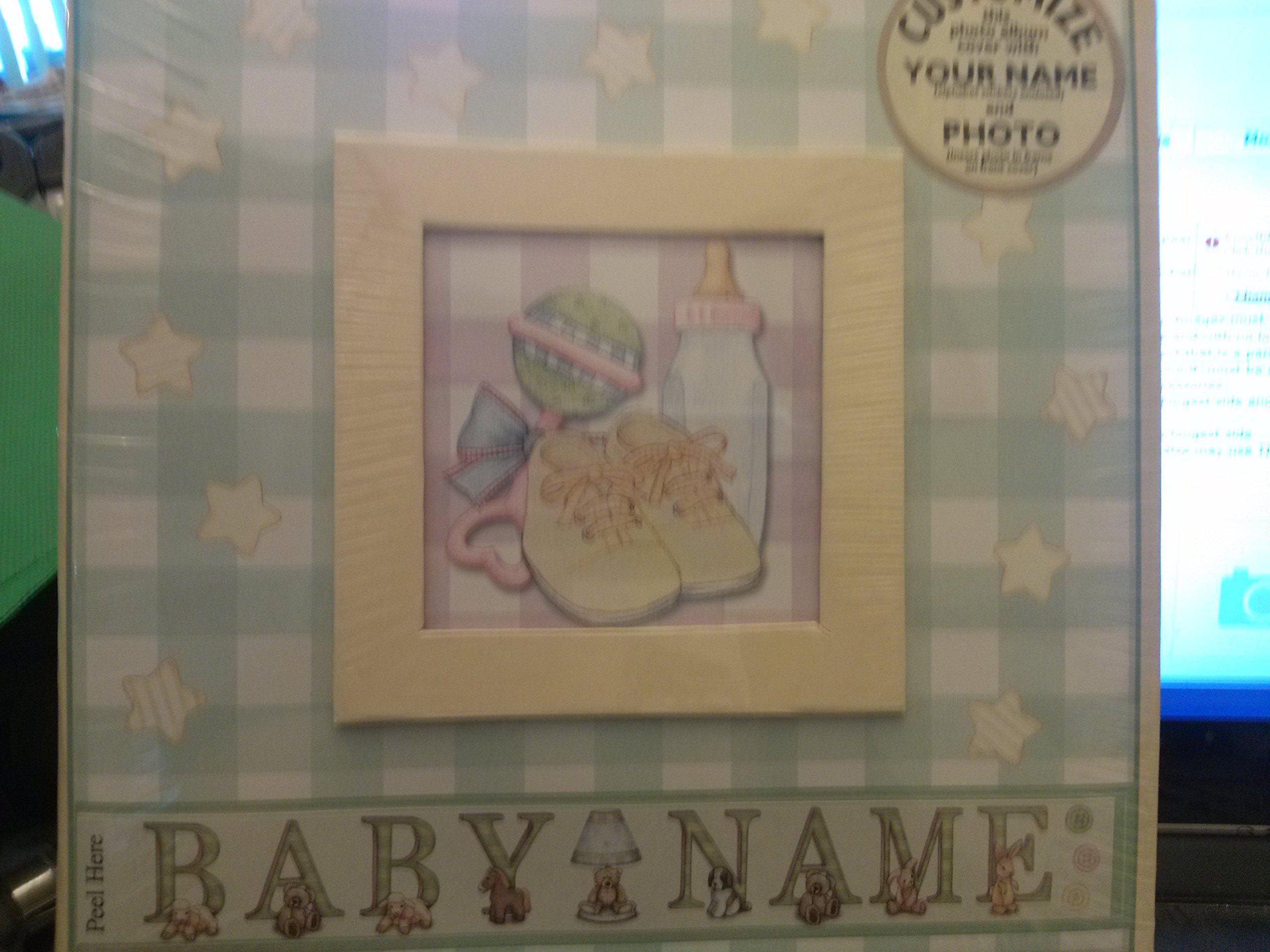 Havoc Everyday Photo Album - Baby - 9'' x 9 by Havoc