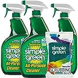 Simple Green AllPurpose Cleaner, 32 Fl Oz (Pack of 3), Original, 96 Fl Oz With Scrubbing Pad