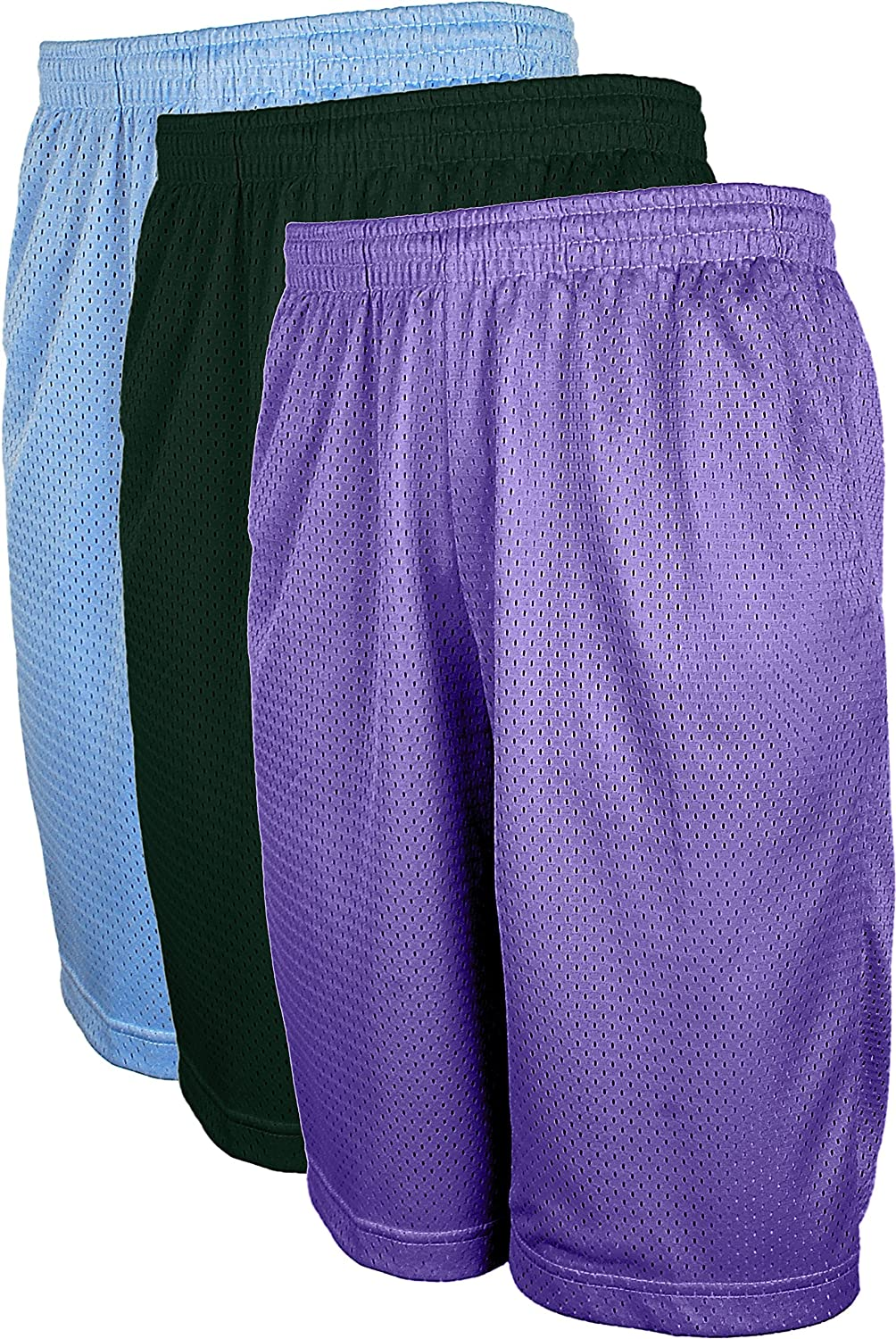 Top Legging Athletic Active Men's Workout Running Training Mesh Shorts with Pockets (S-5XL) TL-MESHSHORT