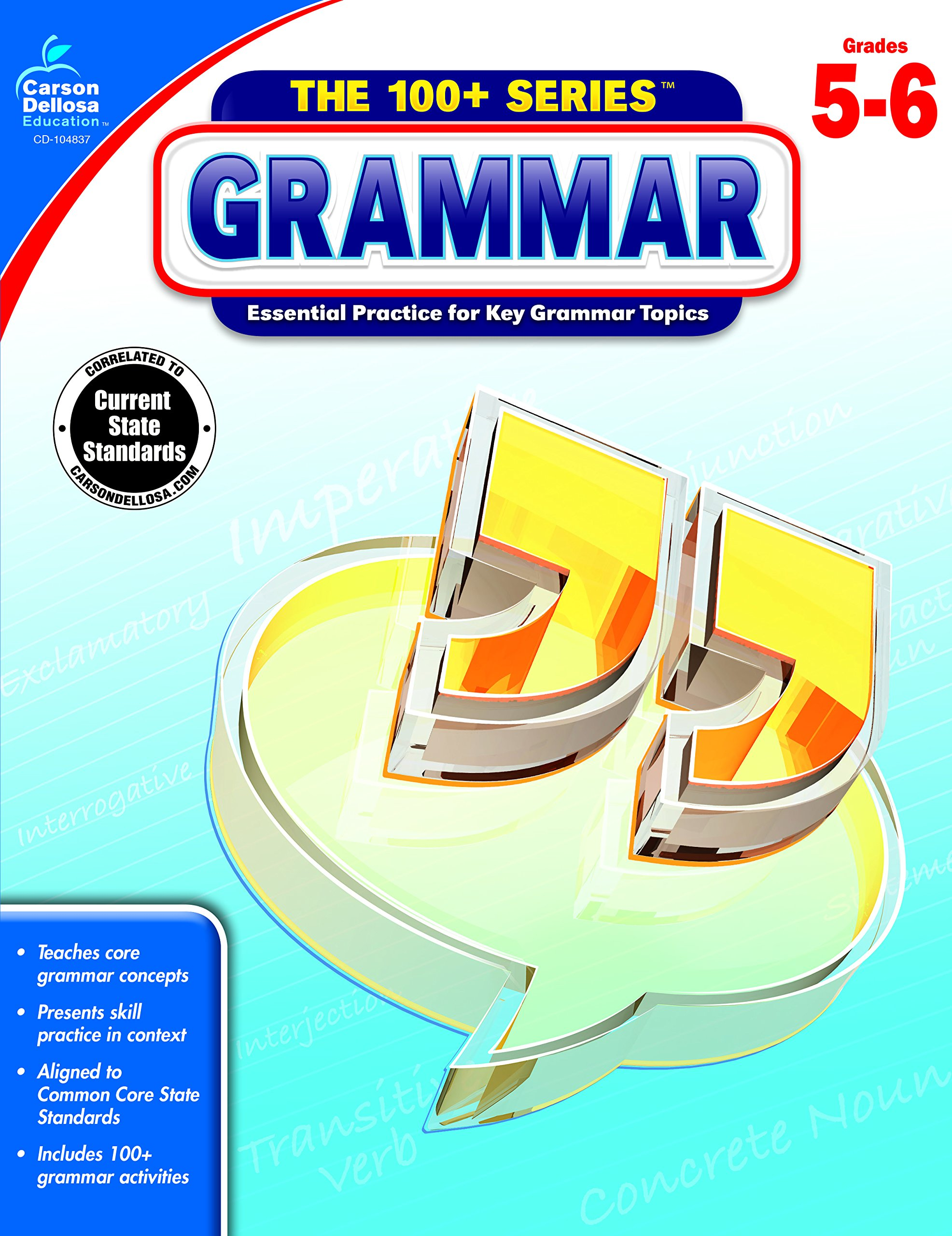Grammar, Grades 5 - 6 (The 100+ Series™)