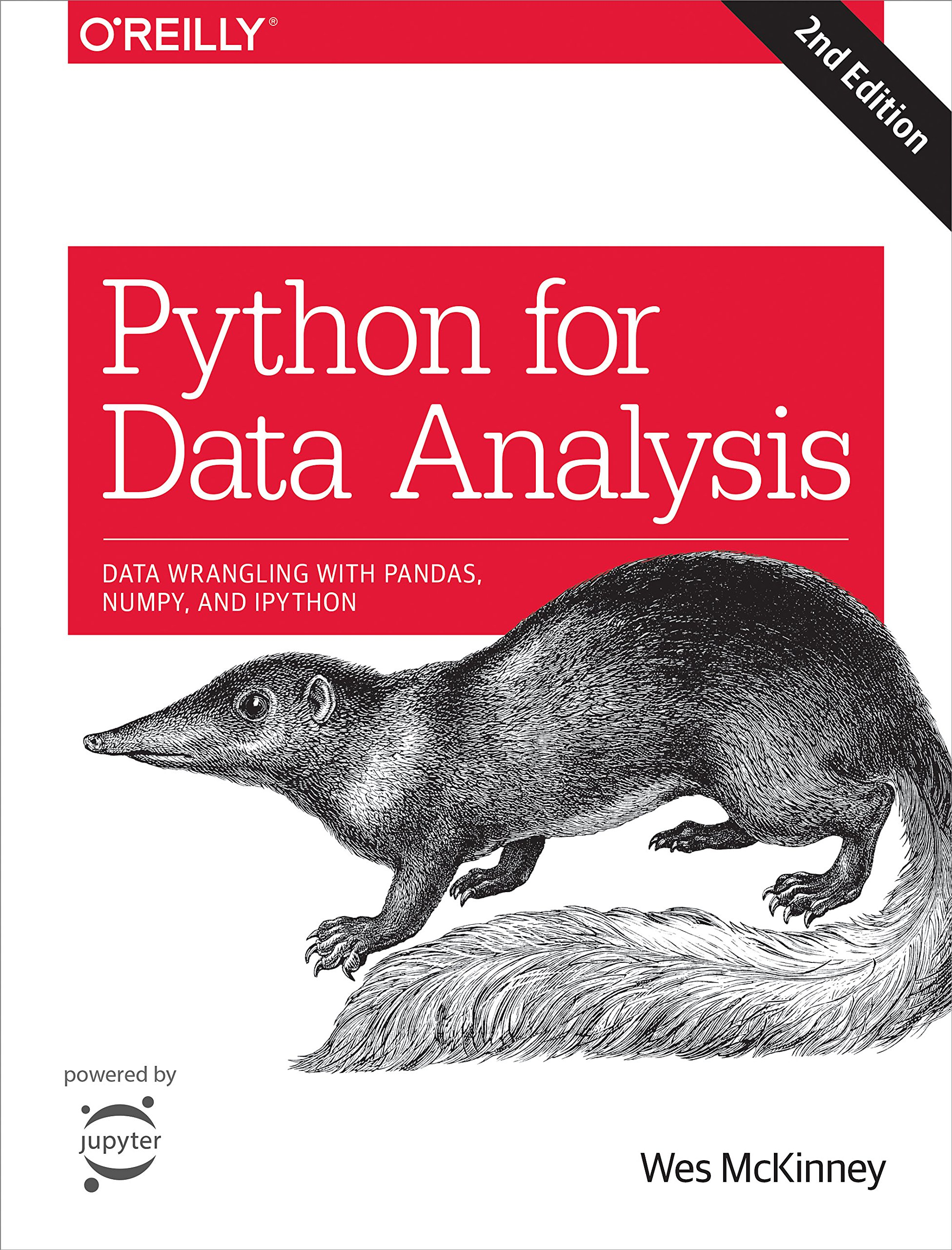 Python for Data Analysis: Data Wrangling with Pandas, NumPy, and IPython by O'Reilly Media