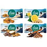 Rise Bar High Protein Variety Pack, 4 Flavors (12 Bars)
