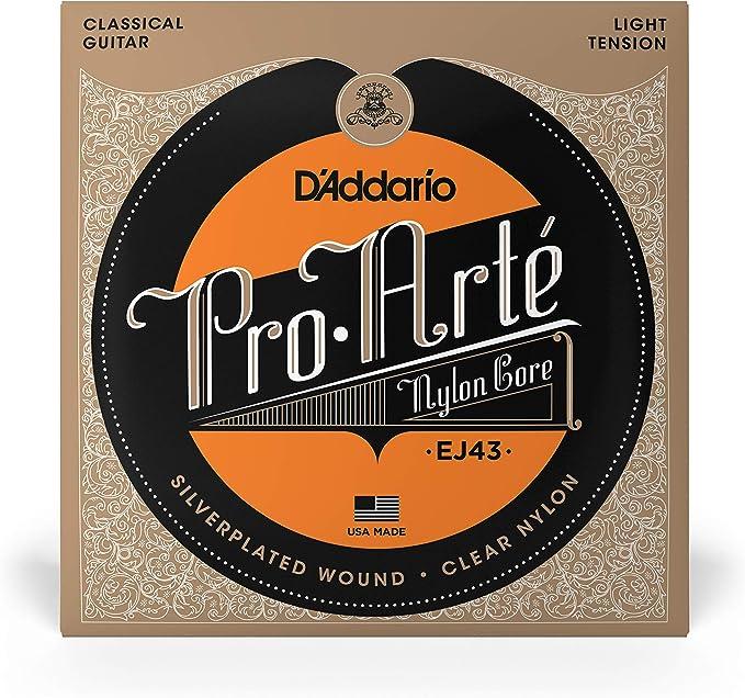 DAddario EJ43 - Juego de cuerdas para guitarra clásica de nylon ...
